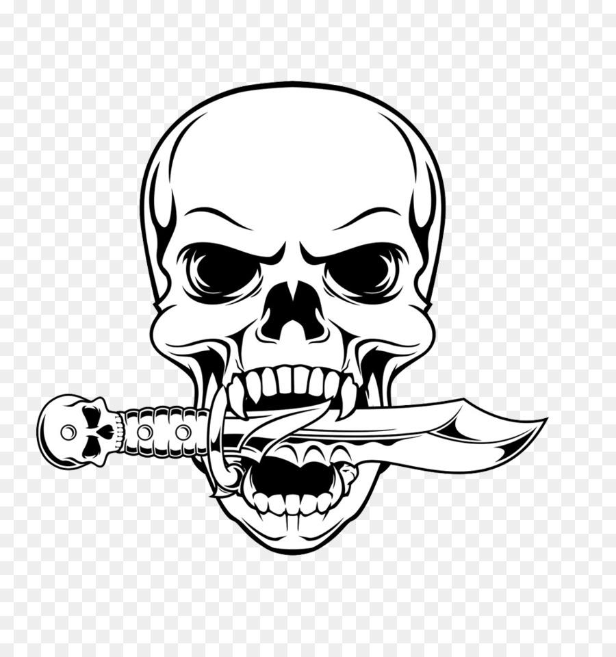 900x960 Skull Drawing Illustration