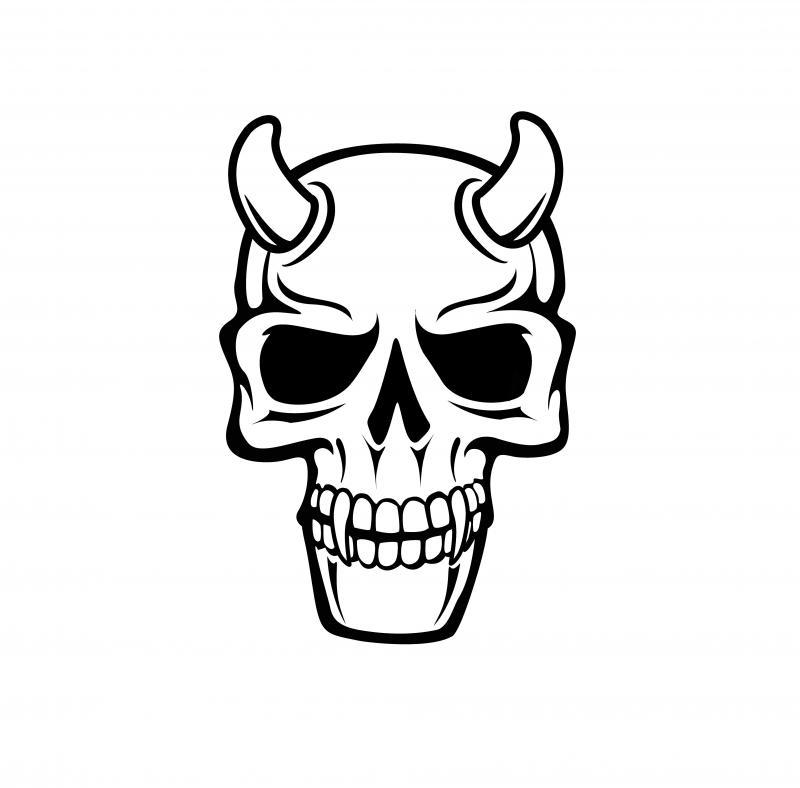 800x788 Drawings Of Deer Skulls