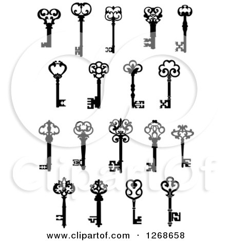 450x470 Royalty Free Antique Key Illustrations By Vector Tradition Sm Page 1