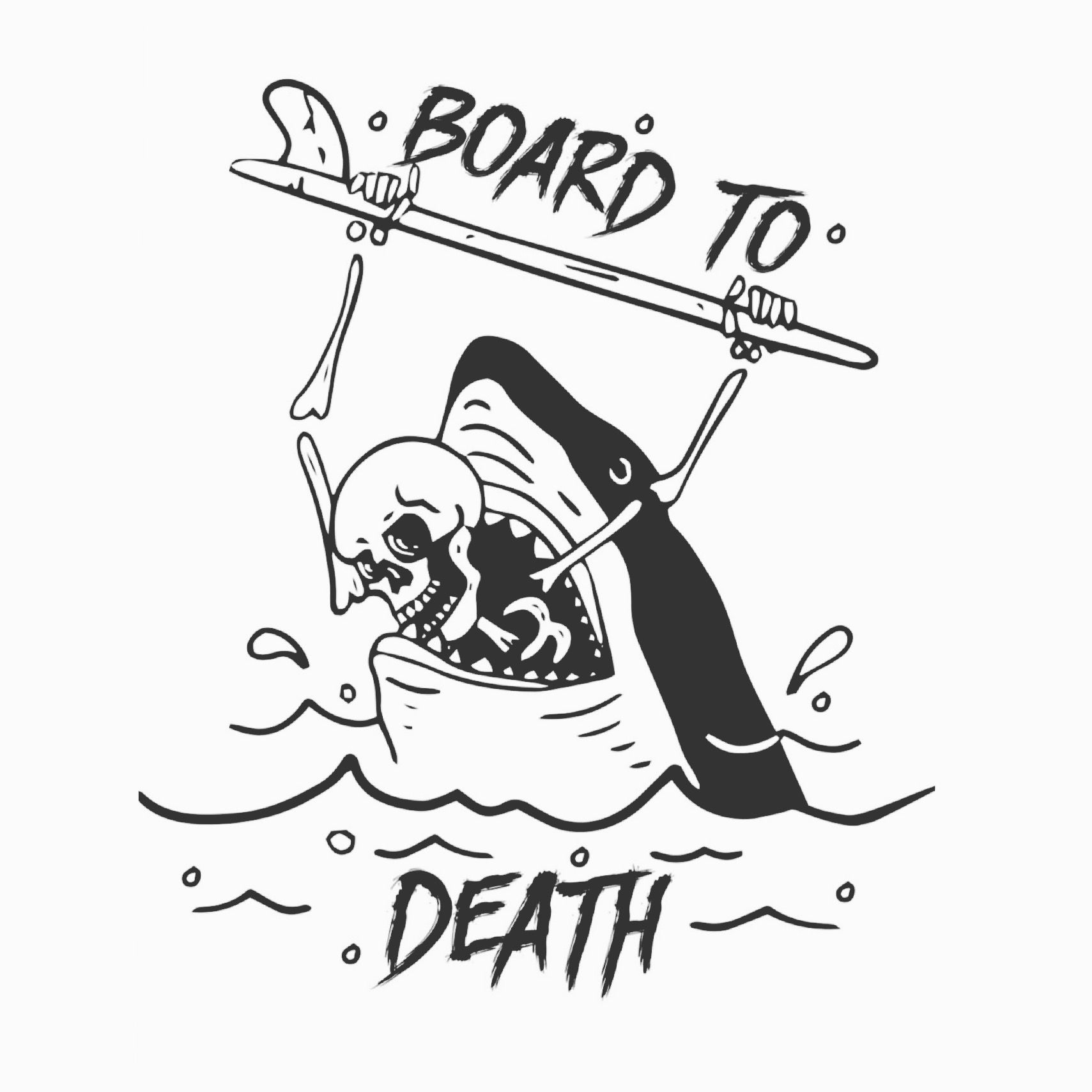 1709x1709 Image Result For Skeleton Surf Board Graphics Ss 18 All