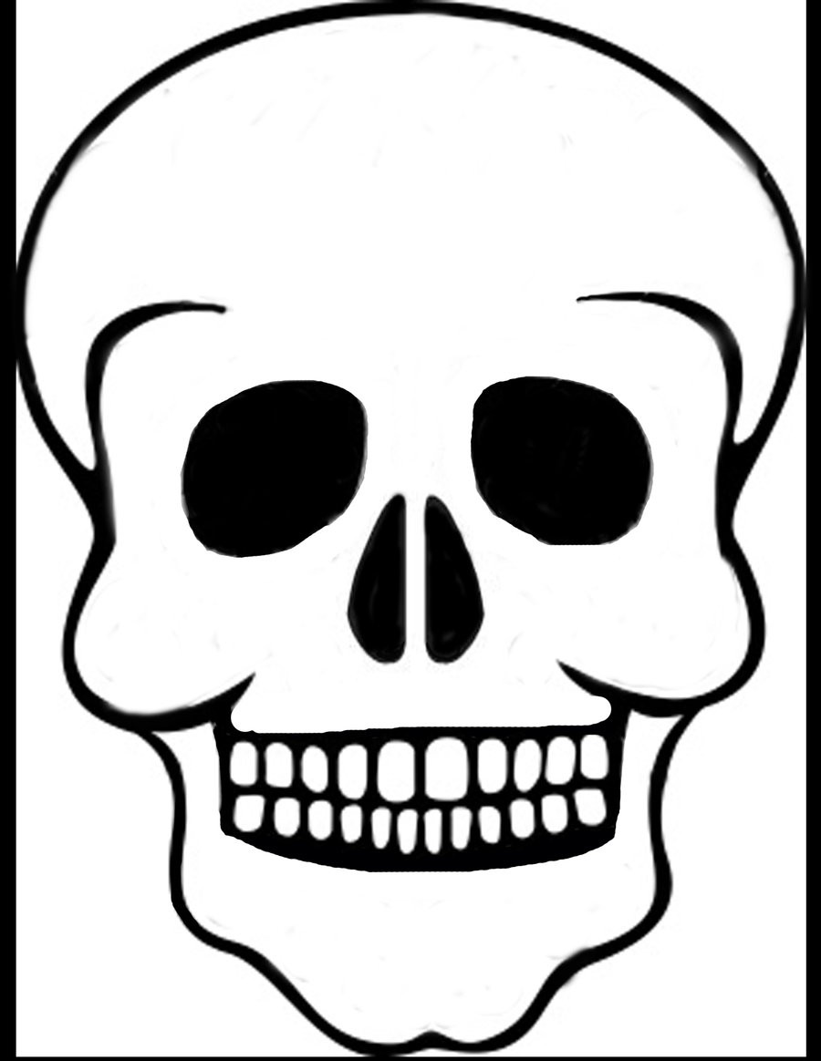 skeleton skull drawing at getdrawings com free for personal use