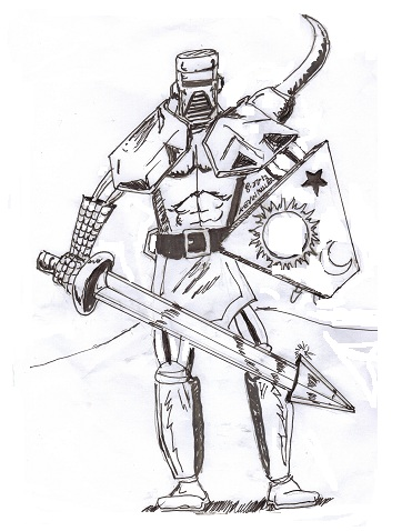 362x478 Armored Skeleton Warrior By Oogly4