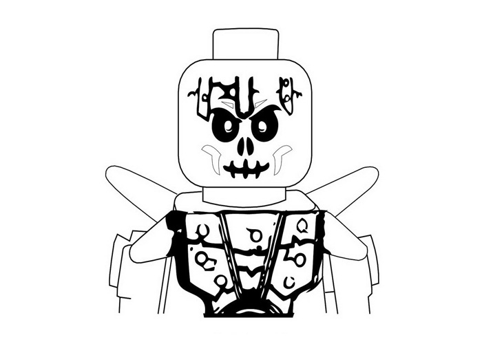 700x500 Skeleton Warrior Coloring Pages
