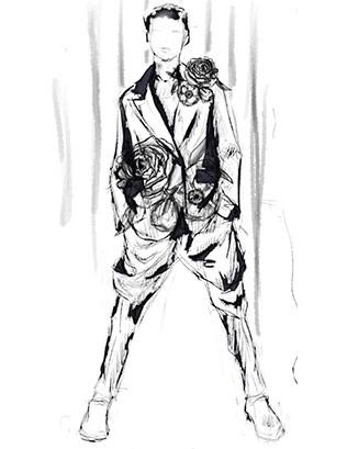 316x409 Fashion Sketches Free Downloads Fashion Design Sketch Samples