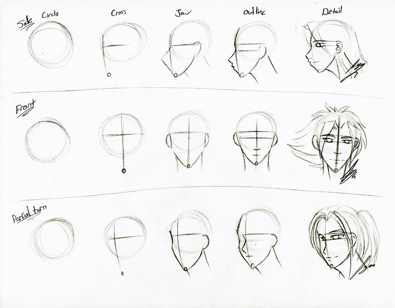 1280x998 Face Sketch Tutorial By Juacamo
