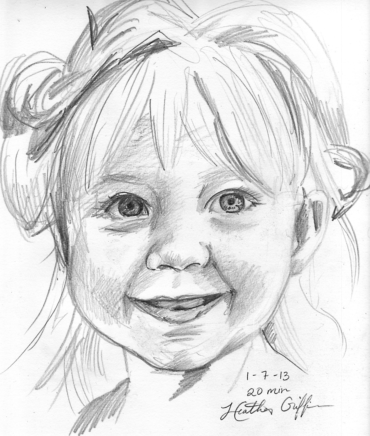 1500x1768 Heather Griffin Art Fast Sketch Face