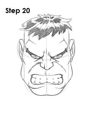 300x388 How To Draw Hulk