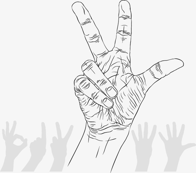 650x575 Hand Drawn Sketch Gesture, Hand Painted, Vector, Sketch Png