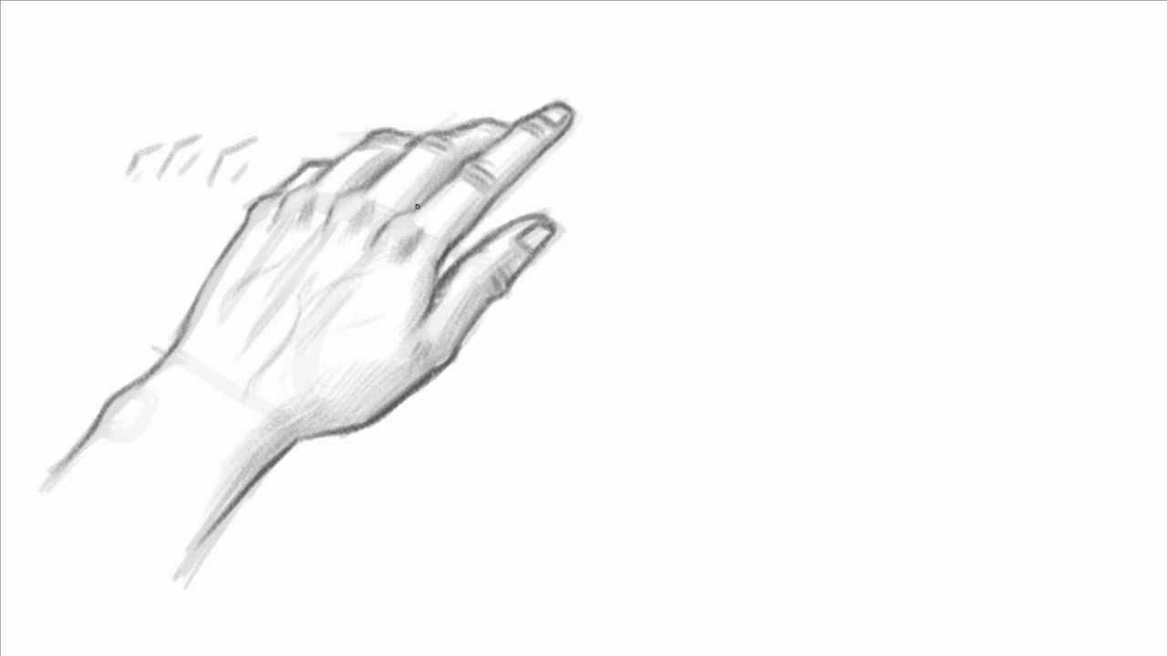 1280x720 How To Draw The Hand