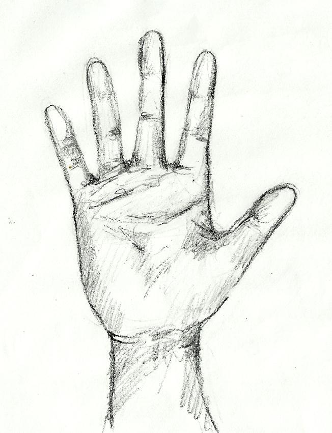 652x851 Tutorial Sketching Human Hand Artist Dreamer