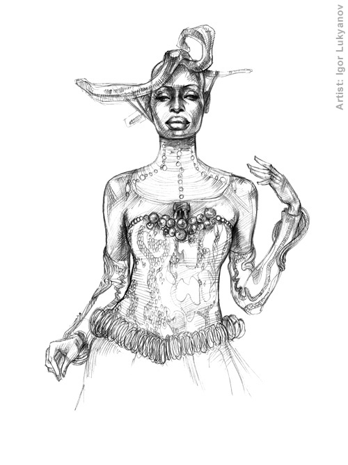 500x667 Drawing Fashion Illustrations And Sketches