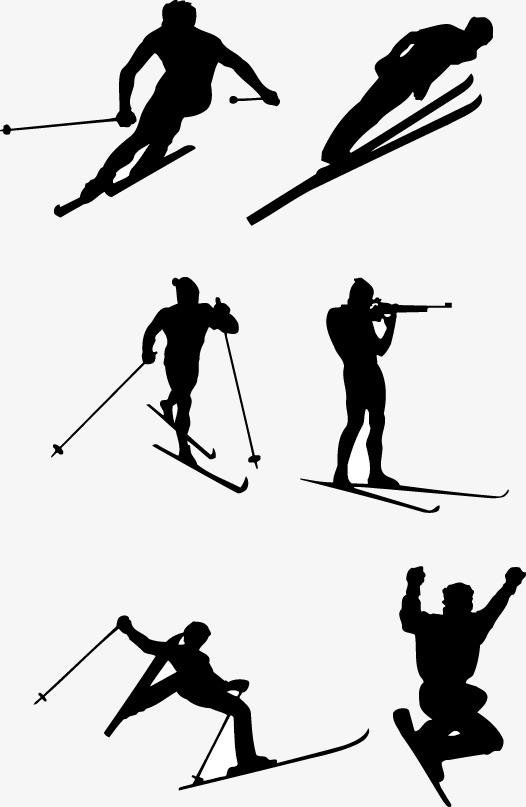 526x807 Ski, Movement, Sketch Png Image For Free Download