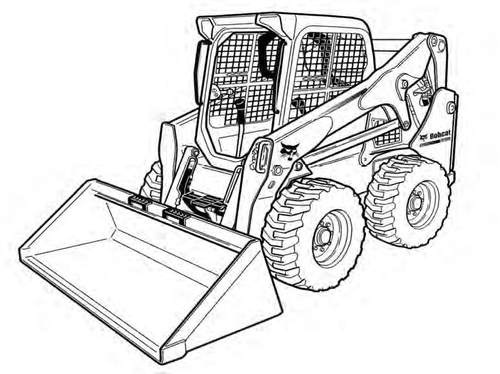 500x374 Bobcat S750 Skid Steer Loader Service Repair Manual Download(Sn