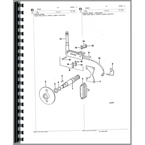 Gehl Skid Steer Parts Diagram