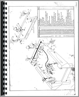 275x336 Owatonna 1700 Skid Steer Loader Parts Manual