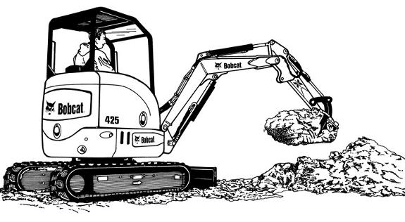 bobcat skid steer loader part diagram