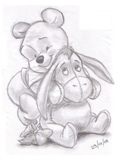 400x550 Winnie The Pooh High Quality Drawing Drawing Skill