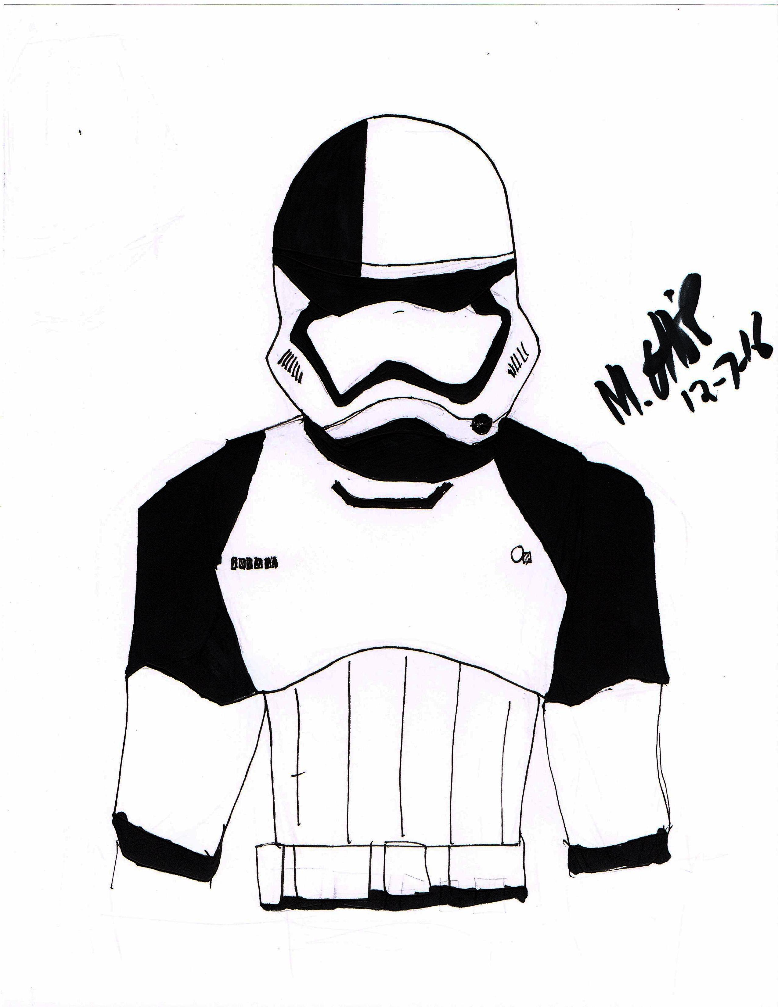 2550x3300 Drawing Of The Week Stormtrooper Executioner New Last Jedi