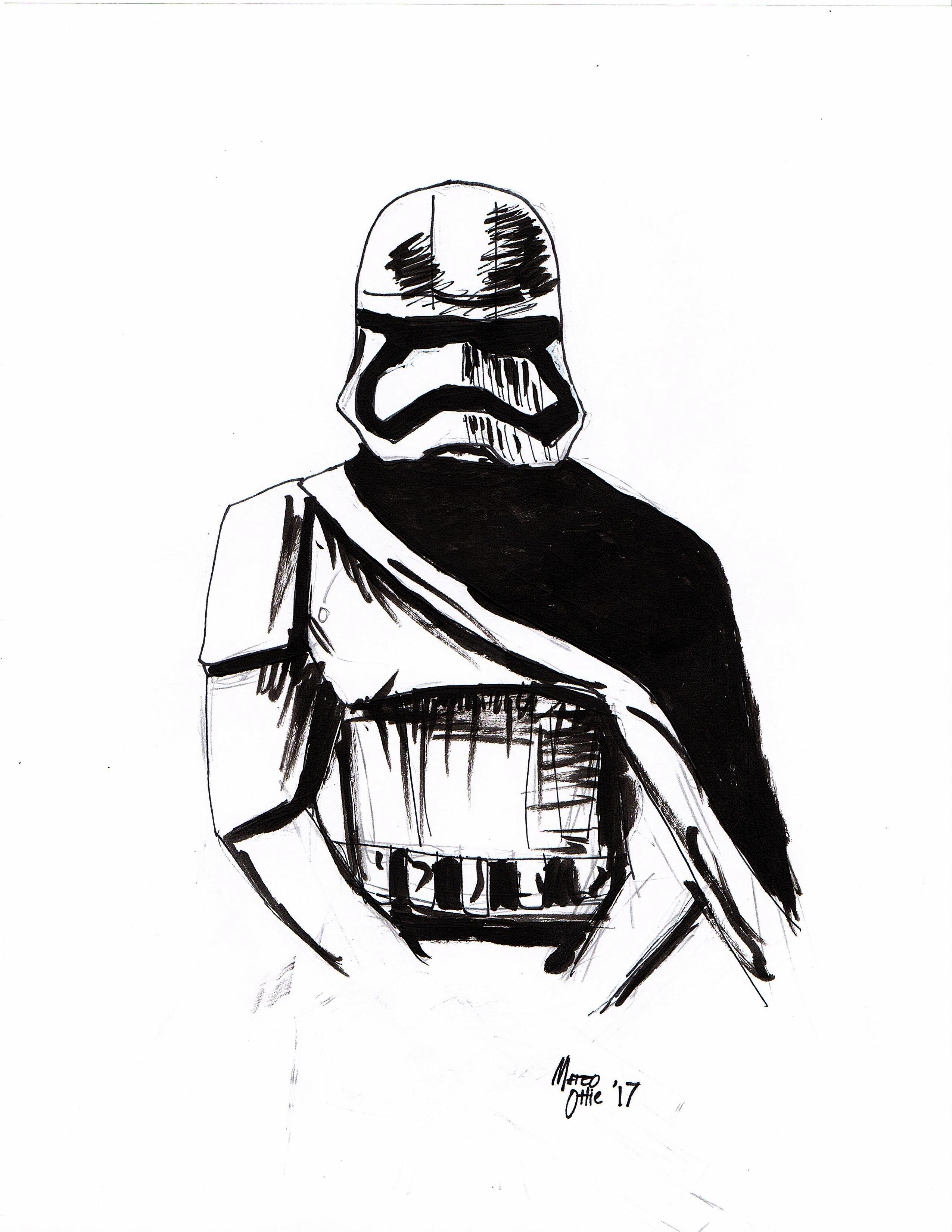 2550x3300 Drawings Of The Week Star Wars The Last Jedi Rockin'