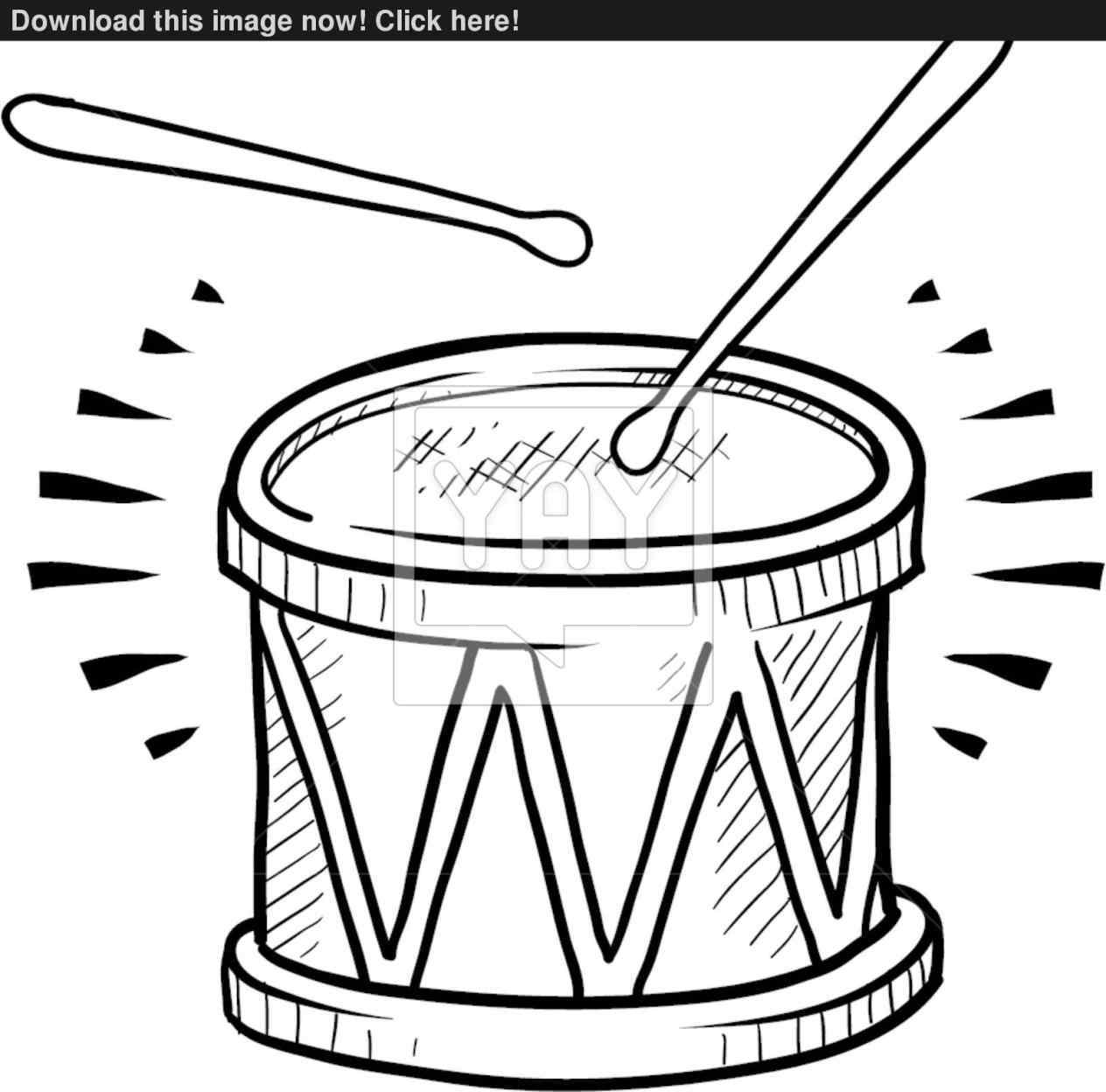 1264x1248 Snare Drum Drawing 2018