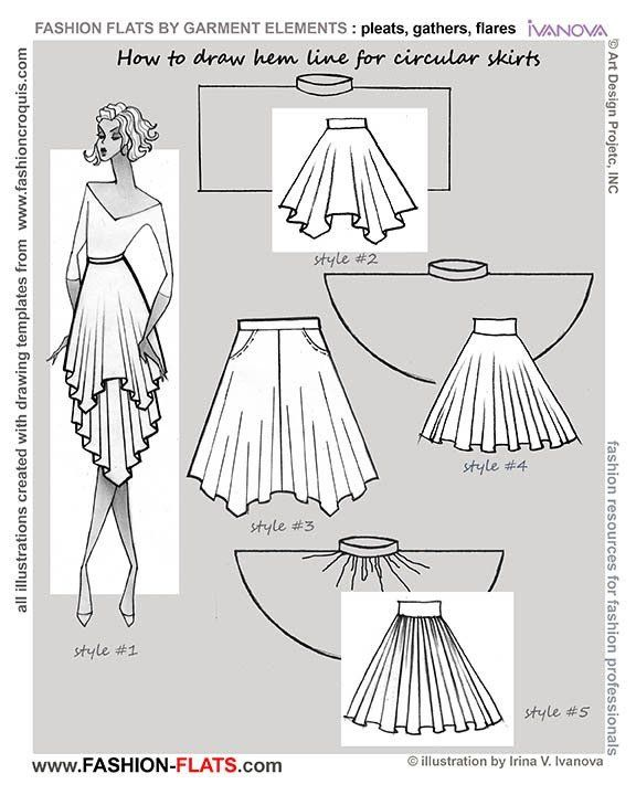 576x720 Oltre 25 Fantastiche Idee Su How To Draw Skirt Su