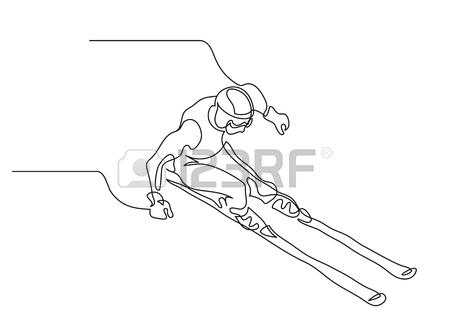 450x336 2,015 Slalom Cliparts, Stock Vector And Royalty Free Slalom