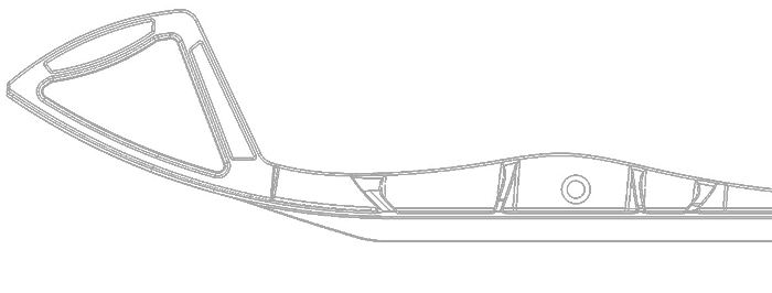 700x266 Snowmobile Skis In Uhmw Pe Polymer
