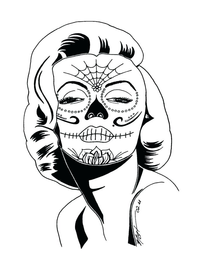 687x904 Skull Coloring Pages Anatomy Medium Size Of Sheets For Skull