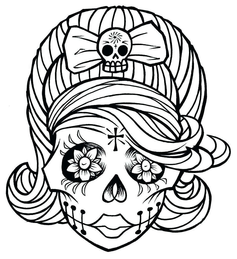 936x1024 Coloring Skull And Bones Coloring Pages Draw Library Clip Art