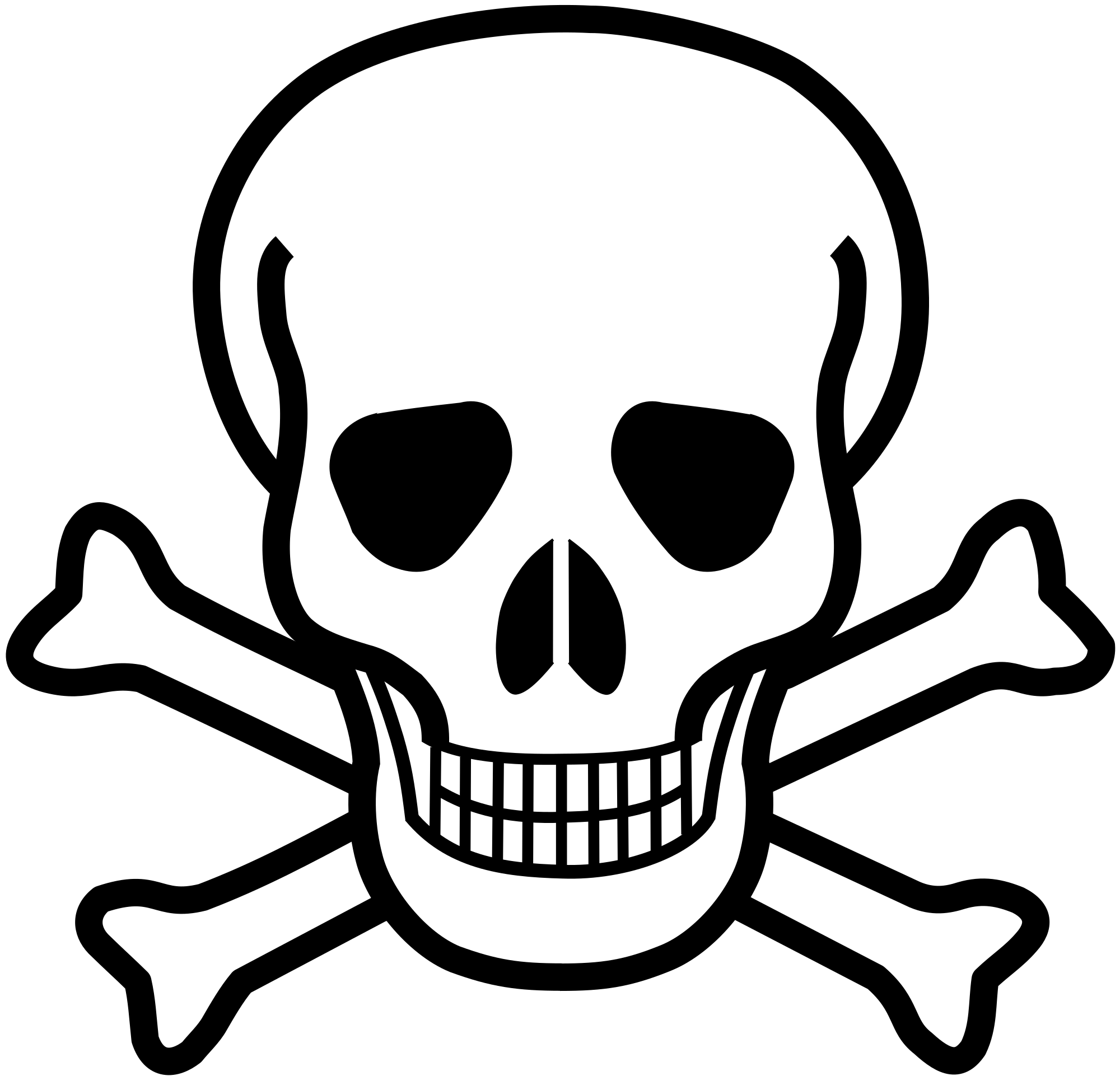 2000x1922 Fileskull And Crossbones.svg