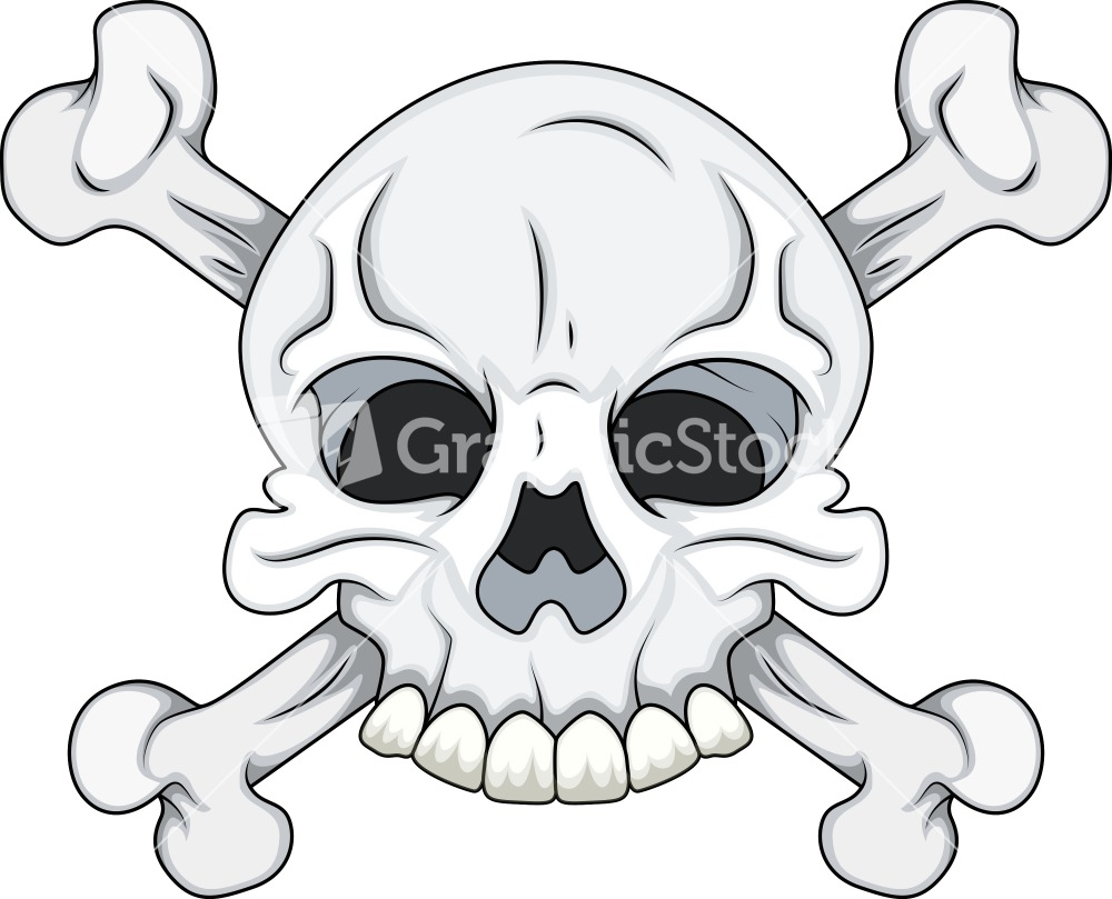 1000x809 Skull And Crossbones Vector File