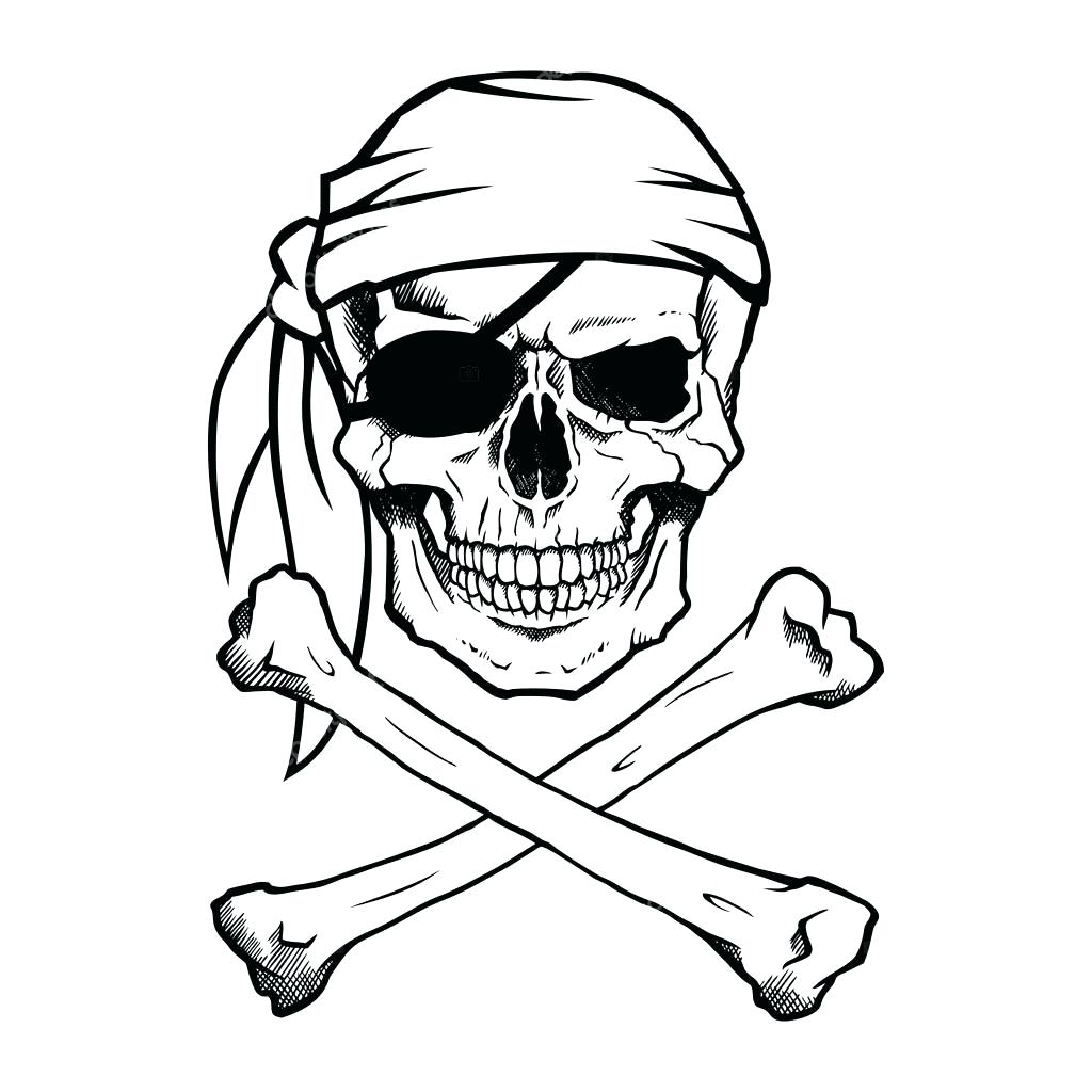 1024x1024 Printable Printable Pirate Skull And Bones