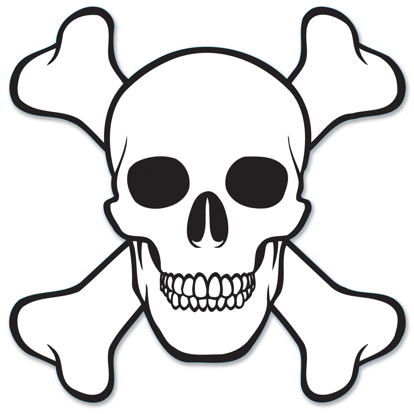 1600x1600 How To Draw A Skull And Crossbones