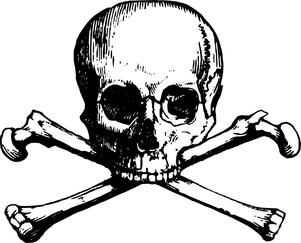 Skull And Cross Bones Drawing at GetDrawings.com | Free for personal ...