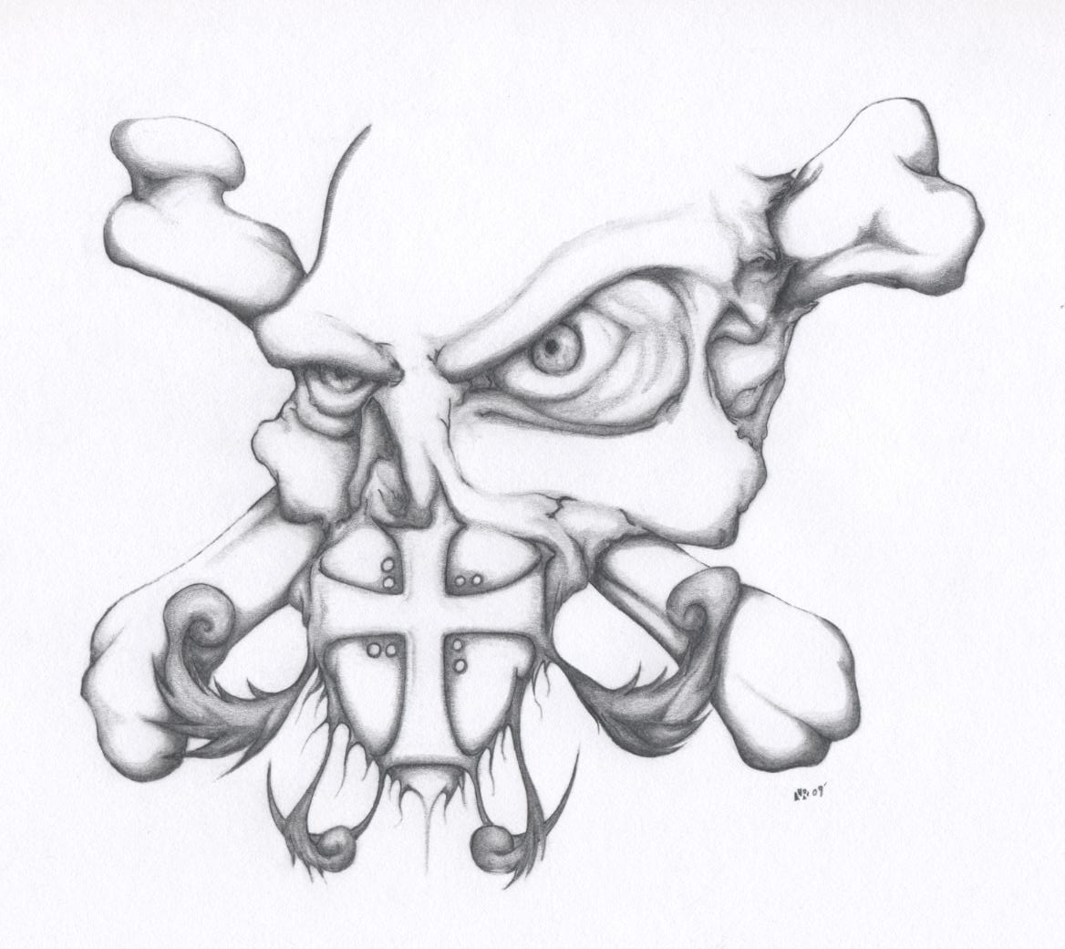 1168x1040 Templar Skull And Crossbones By Nrimages