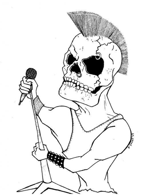 532x680 Skull. People. Drawings. Pictures. Drawings Ideas For Kids. Easy