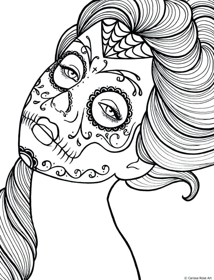 728x955 Skull And Crossbones Coloring Pages Printable Girly Coloring Pages