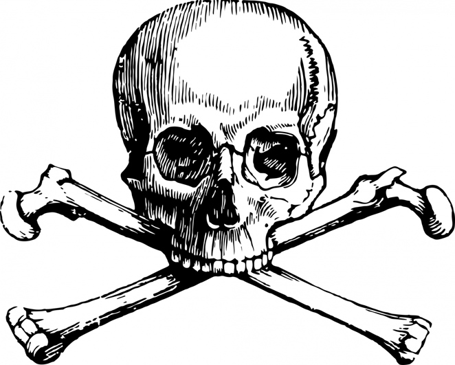 662x531 Cool Skull Clip Art (And Funny!)