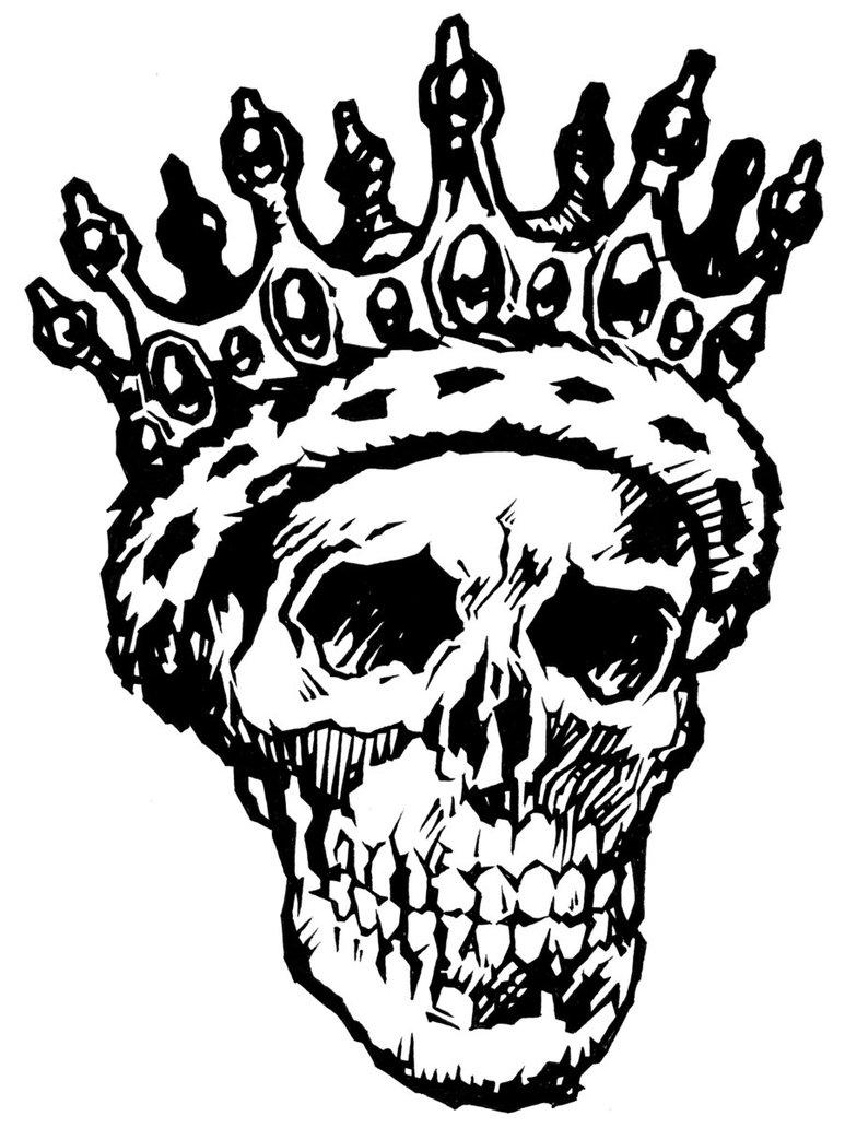773x1032 Skull King By Jnatoli