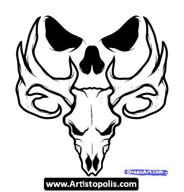 360x376 Elk Human Image Plan Art That Pulls Me Elk, Tattoo