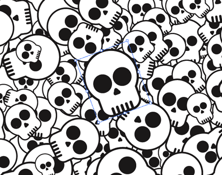 450x354 How To Design A Skate Deck With A Cool Skull Pattern