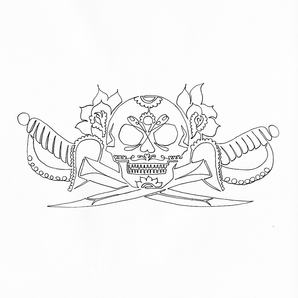 Skull Drawing Pics