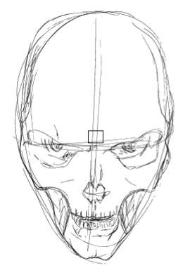 270x398 Illustrate A Malevolent Skull In 8 Steps