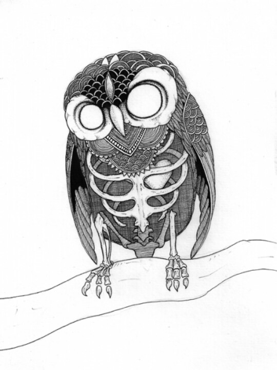 540x720 Dead Owl Design Wow Tattoo's Owl, Tattoo