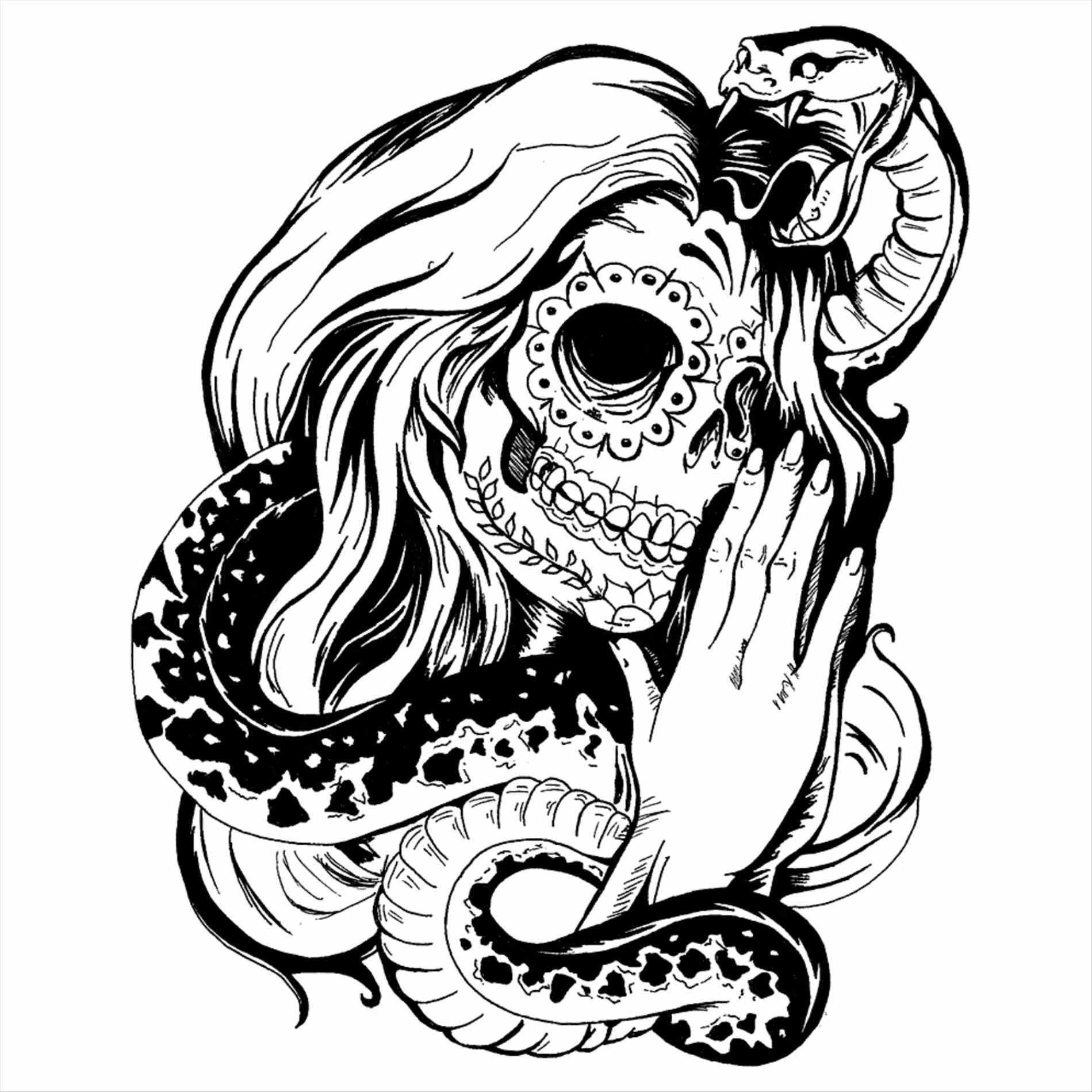 1899x1899 Halloween Coloring Pages Skulls New Sugar Skull Drawings Tumblr