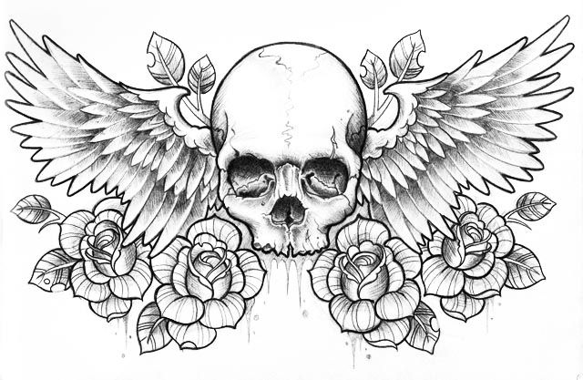 Skull Tumblr Transparent