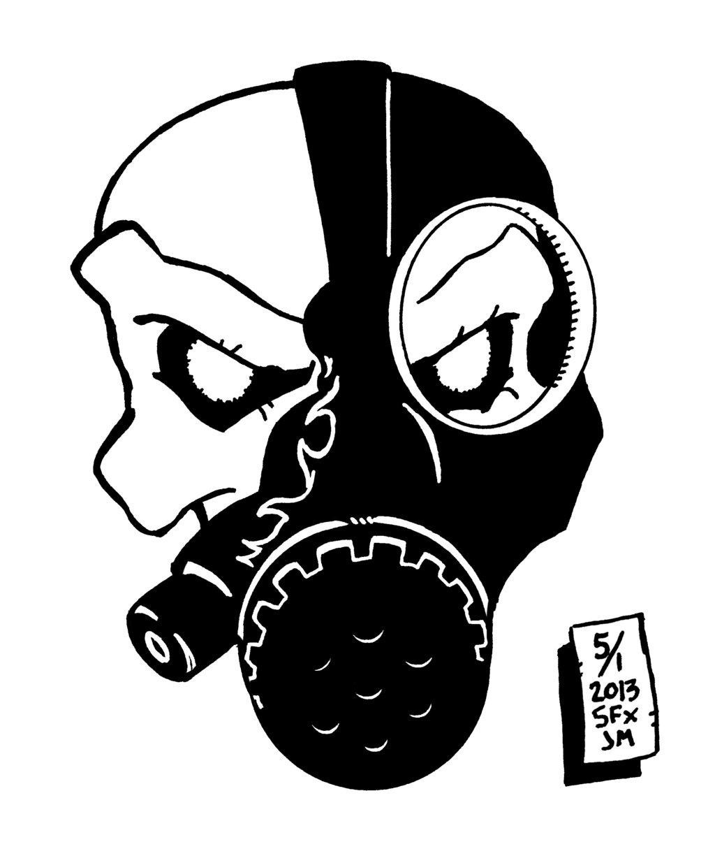 1024x1215 Graffiti Drawings Of Gas Mask Skull Elevation Skull By Chronosfx