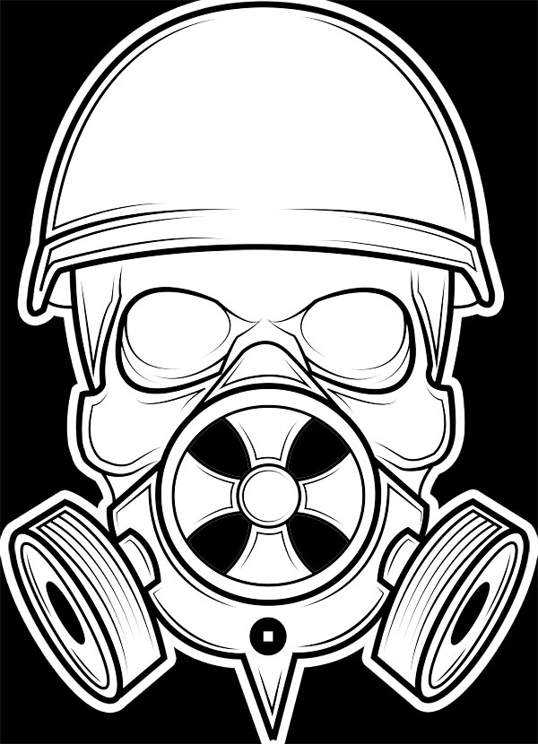skull gas mask drawing at getdrawings com free for chevy emblem tattoos chevy logo tattoo designs