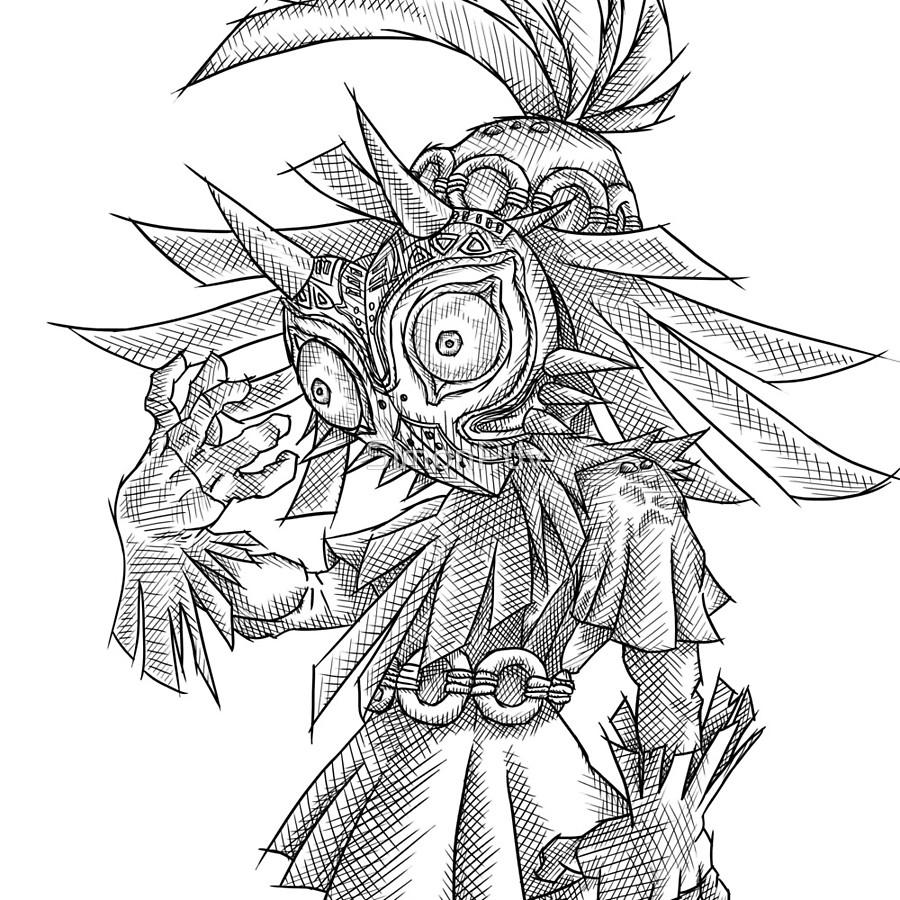900x900 Skull Kid