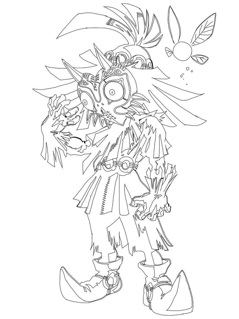 774x1032 Skull Kid By Aerodynamic909